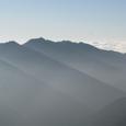 鳳凰三山の朝