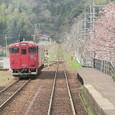 山陰本線竹野駅にて
