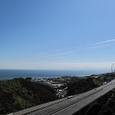 大阪湾と高速道路(淡路)
