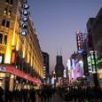 南京東路夜景