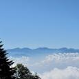 空木岳登山道より南アルプス